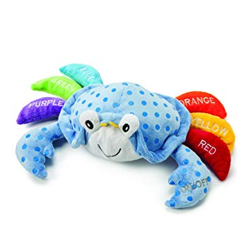 DEMDACO Learn Your Colors Crab Toy